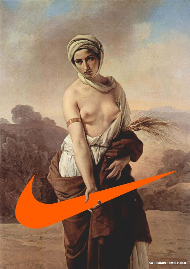"The Davide Bedoni, a fashion filmmaker and art director born in Vicenza, Italy, the Swoosh Art series is quite entertaining. Some of the artworks also incorporates the famous slogan, ""Just Do It,"" which seems to be the motto behind such a project."