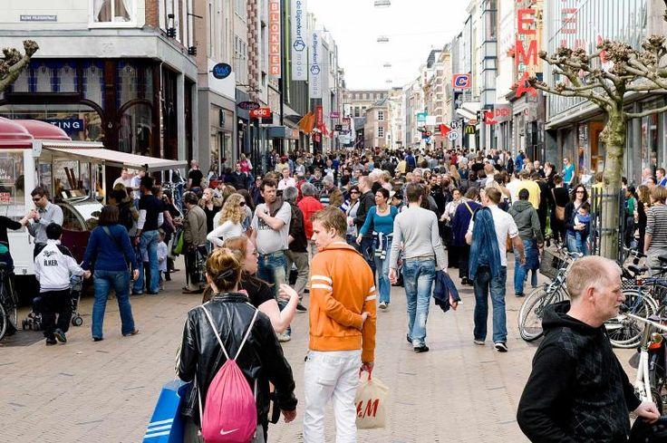 Herestraat, Groningen. The Netherlands.