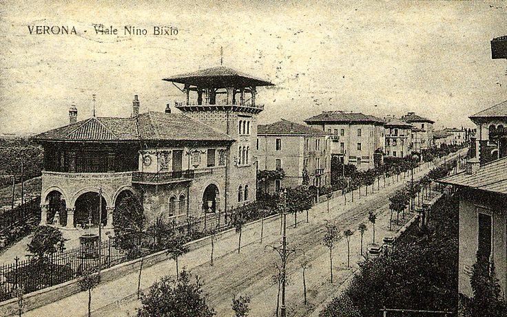 Viale Nino Bixio http://www.veronavintage.it/verona-antica/cartoline-storiche-verona/viale-nino-bixio