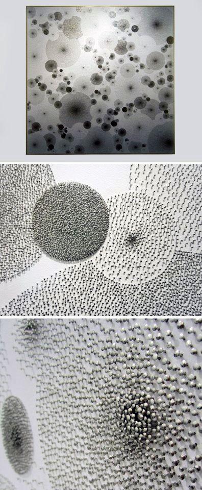 Pins | Tara Donovan at Art Basel