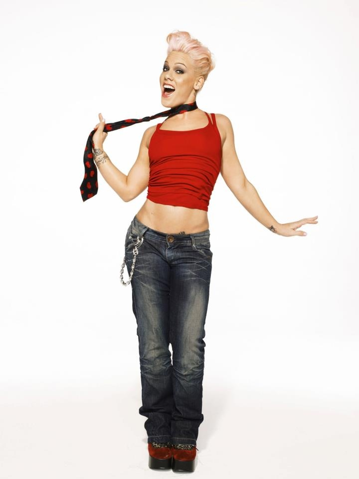 Pink the singer modeling slutty