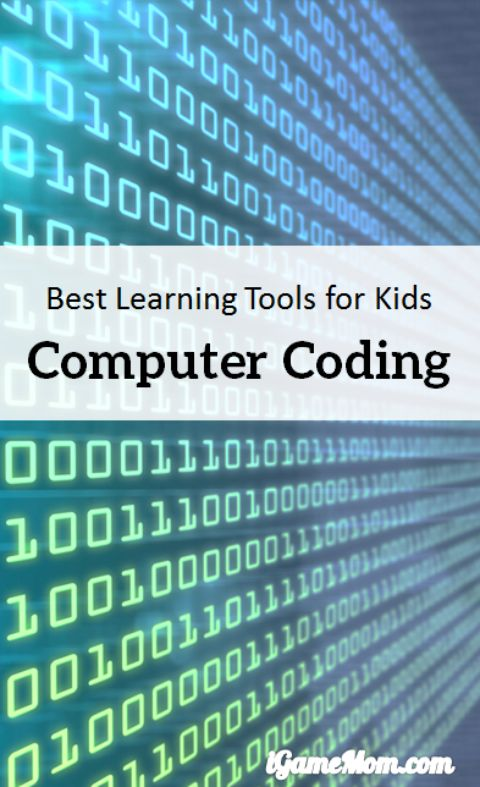 Learn computer coding at your own pace from these top picks of computer coding learning tools for kids -- no matter what your kids level is, from knowing nothing about coding, to already writing programs, you can find a tool for your child. Some are apps, some are programs you can access on computers, some are even free.