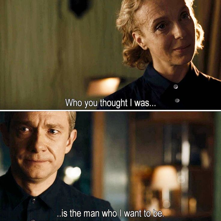 """Who you thought I was is the man who I want to be"" - John and Mary #Sherlock - And now I'm crying again"