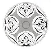 Keltisches Mandala 7 Ausmalbild