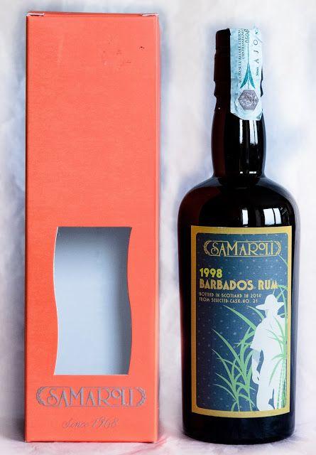 Rum Corner: Review 49 - Samaroli 1998 Barbados Rum 16 year old