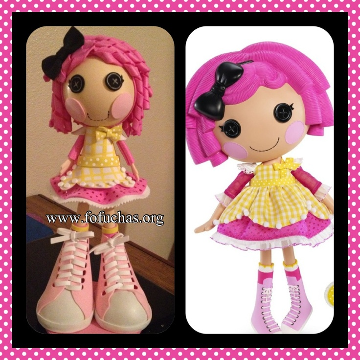 Check out my latest fofucha. Inspired in Lalaloopsy character. She would make an awesome decoration or birthday centerpiece. Check out my facebook and see my work. www.facebook.com/fofuchashandmadedolls