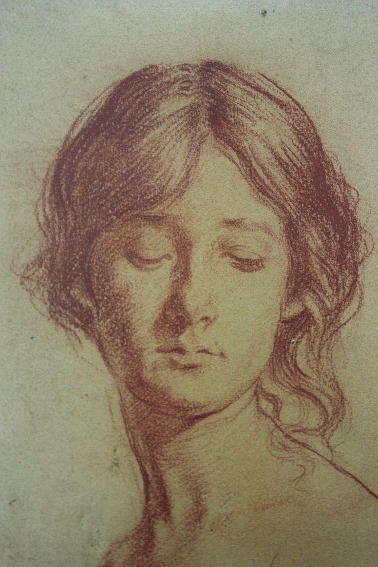 Grace crowley portrait study