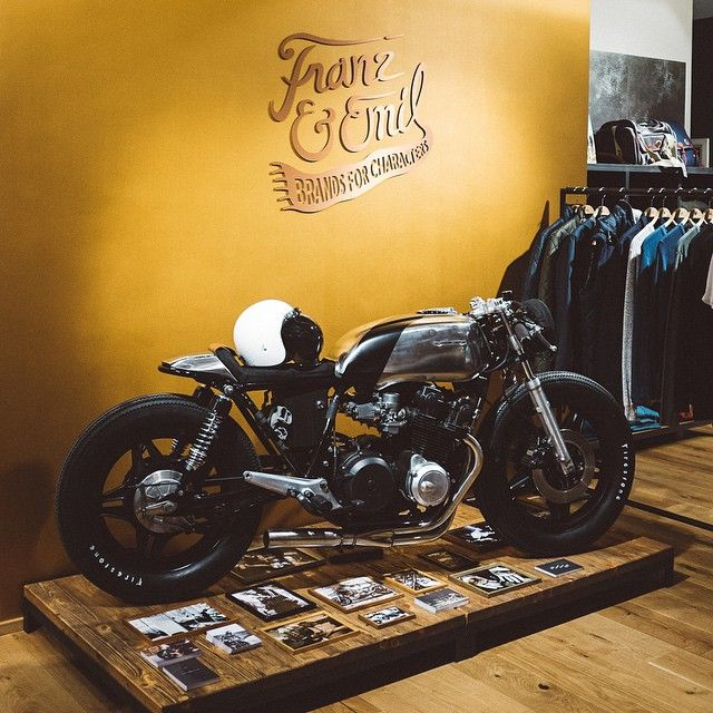 Via Hookie Co #caferacer | caferacerpasion.com