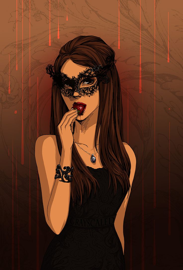 Vampire Diaries -Katherine Pierce by GRAYSCALED.deviantart.com on @deviantART