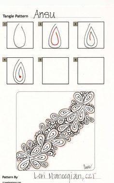 zentangle zendoodles beginners - Google Search