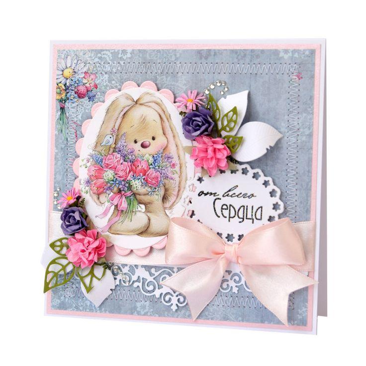 Скрап открытки с днем рождения для девочки, марта картинки