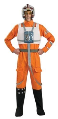 Rubie's Costume Star Wars A New Hope X-Wing Pilot Costume Size Adult Men's Small