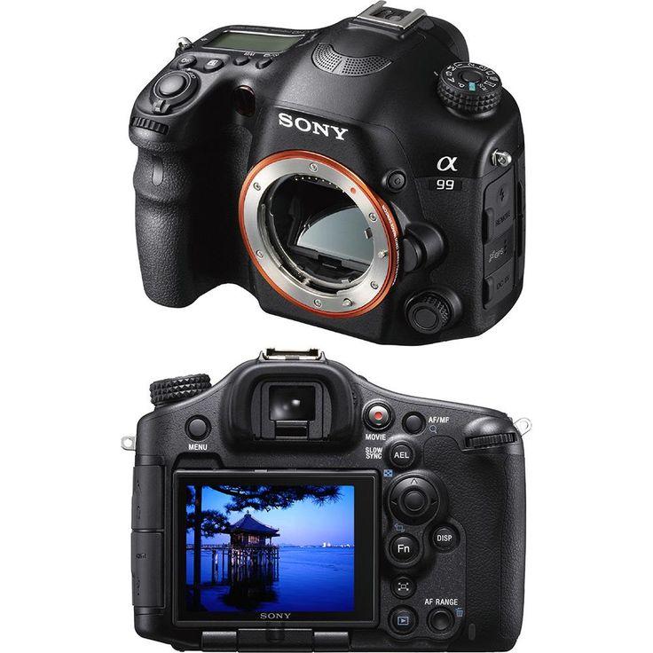 Câmera Reflex Sony Full Frame Alpha SLT-A99V com 24,3 Megapixels Tecnologia TMT e Lentes Intercambiáveis - http://batecabeca.com.br/camera-reflex-sony-full-frame-alpha-slt-a99v-com-243-megapixels-tecnologia-tmt-e-lentes-intercambiaveis.html