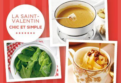 Menu week-end - Une Saint-Valentin chic et simple #menuwk #saintvalentin