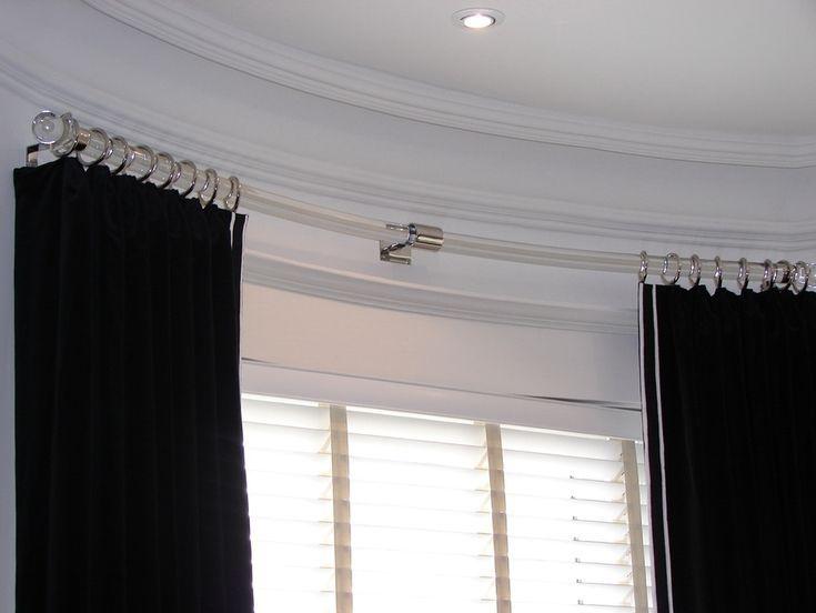 Gardinenstange Ellenbogengelenk Ecke Fenster Behandlung
