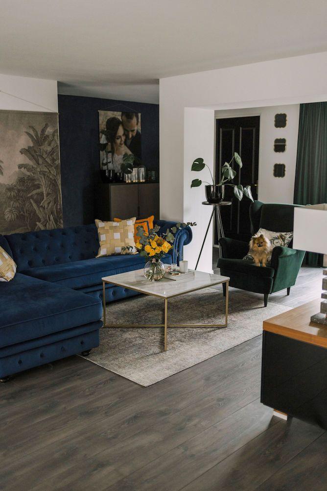 Woonkamer Upgrade Met Ikea Strandmon Fauteuil In Smaragdgroen In 2020 Woonkamer Blauw Interieur Woonkamer Woonkamer Decoratie