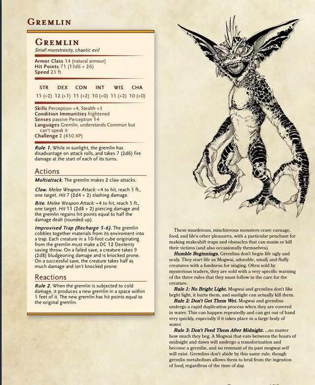 Every DnD homebrew monster I could find in 2019 | D&D | Dungeons