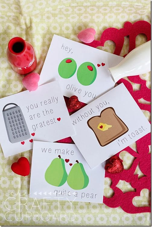 12 Printable Lunchbox Notes for Your Little Valentines