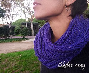 Qkdas-amy: Bufanda de cuello
