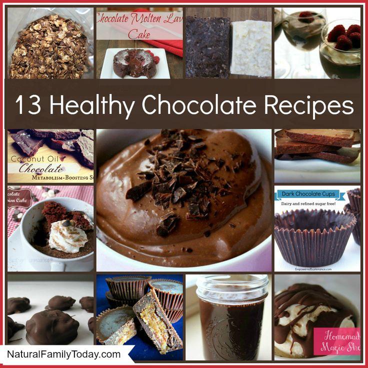 13 Healthy Chocolate Recipes