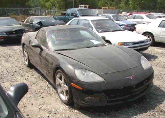 Wrecked Corvettes For Sale - Repairable Corvettes - Used Corvettes For Sale - 1967 Corvette $12,900 - Damaged Corvettes - Wrecked Corvette ZR1 - New ZR1 Corvette For Sale $33,00 - New Z06 Corvette $18,900