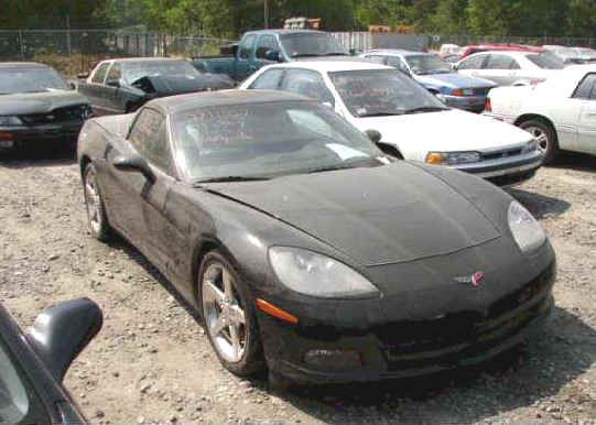 Wrecked Corvettes For Sale - Repairable Corvettes - Used Corvettes For Sale - 1967 Corvette $12,900 - Damaged Corvettes - Wrecked Corvette ZR1 - New ZR1 Corvette For Sale $33,00 - New Z06 Corvette $18,900