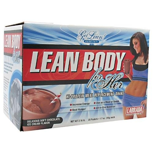 Labrada Nutrition Lean Body for Her Meal Replacement Shake, Chocolate Ice Cream, 1.7-Ounce Packets (Pack of 20)  http://www.mysharedpage.com/labrada-nutrition-lean-body-for-her-meal-replacement-shake-chocolate-ice-cream-17-ounce-packets-pack