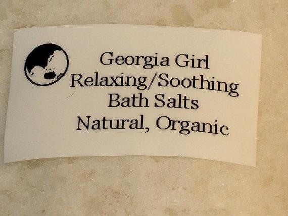 Bath Salts Relaxing Soothing Moisturizing by gagirljewelryandgift, $5.50