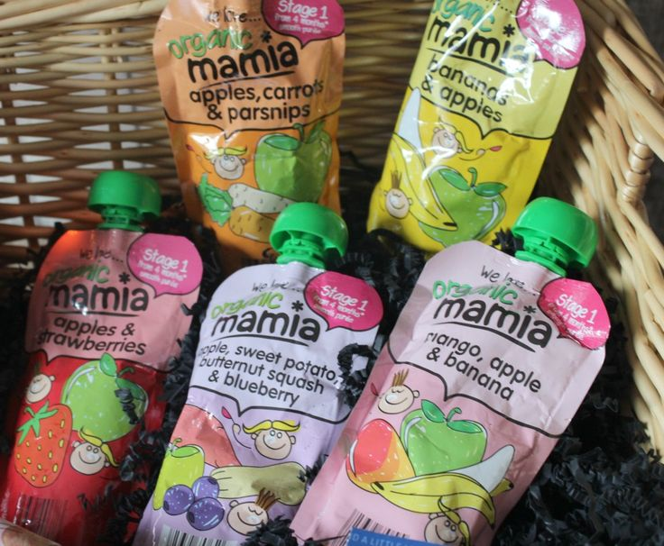 Aldi Mamia Baby and Toddler Food