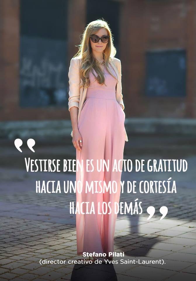Vestirse bien es un acto de gratitud hacia los demás. sweetseasons.com.mx