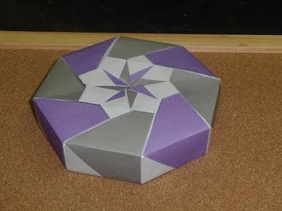 7 best images about origami on pinterest cherries, robins and Tomoko Fuse Box origami maniacs origami octagon flowery box by tomoko fuse tomoko fuse boxes