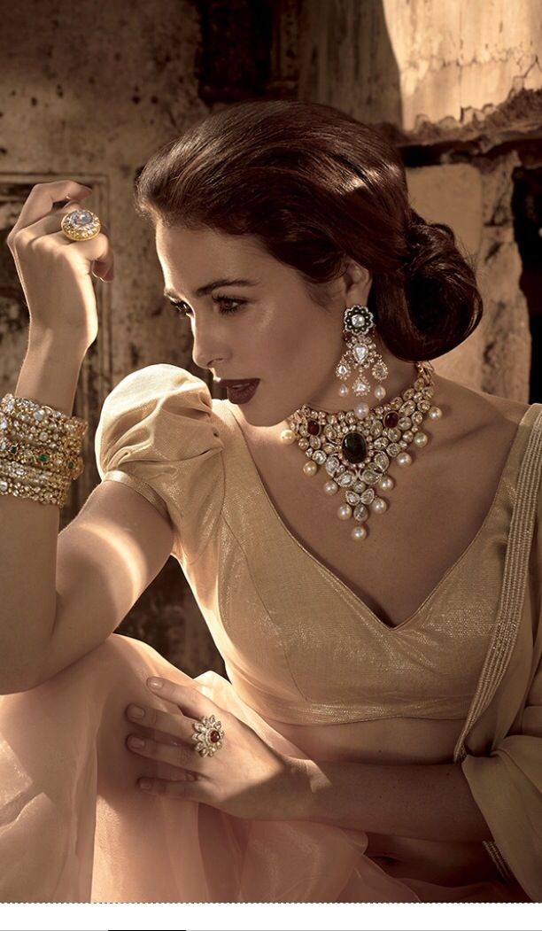 Now that what u call bridal jewellry