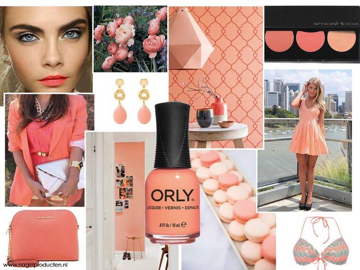 ORLY Push The Limit is een prachtige warme kleur. Net een keer iets anders dan een rode of roze nagellak.