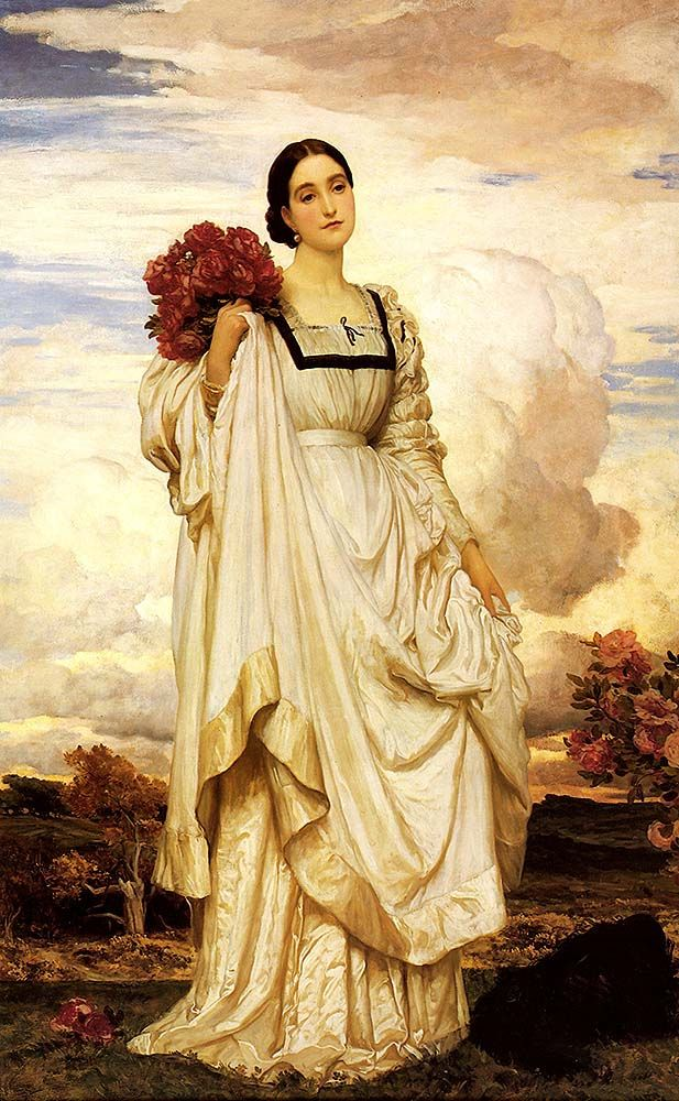 """leighton frederick countess brownlow (from <a href=""""http://www.oldpainters.org/picture.php?/28948/category/12790""""></a>)"""