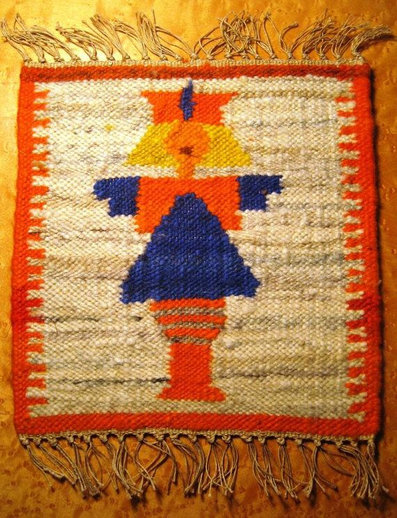 Polish handwoven kilims 70's van Kilimam op Etsy