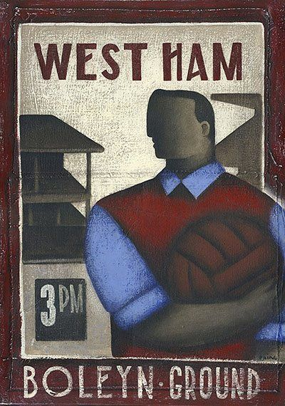 Beautiful Games: nostalgic paintings by Paine Proffitt | Sport | The Guardian