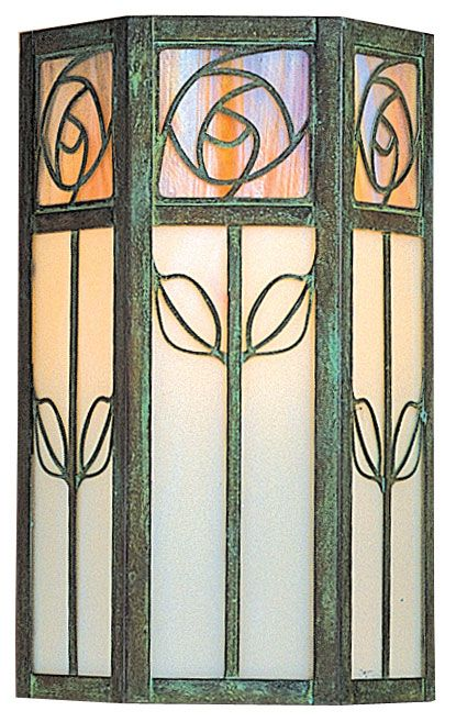 Arroyo Craftsman SCW-12 Saint Clair Craftsman Outdoor Wall Sconce - 12 inches tall - ARR-SCW-12