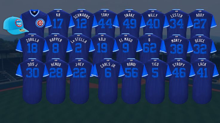 Baez, Cubs excited for Players Weekend fun Baez a/k/a EL Mago a/k/a the magician Javier Baez Should be fun to watch this weekend.  Players will have their nicknames instead of their last names on the back.