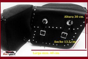 Alforjas Custom para Motos pequeñas y medianas waterproof motorista choppers #alforjas #motos #motorista #custom #biker #chopper #kursport #accesoriosmotos