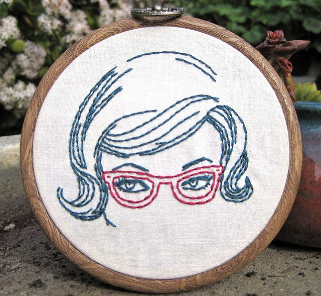 Storybook Series - Lasses with Glasses | by lagidgette via Flickr