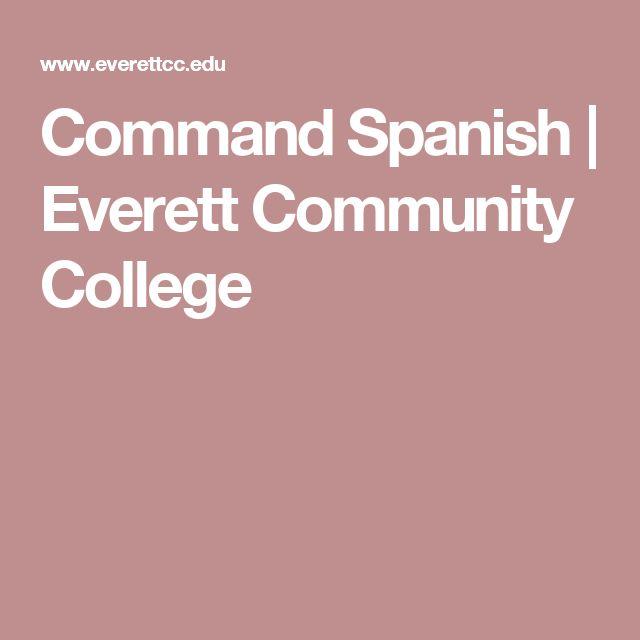 Command Spanish | Everett Community College