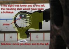 Bow Sight - Adjusting pins, 2nd Axis, and 3rd Axis