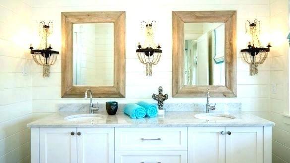Nautical Vanity Light With Images Beach House Bathroom
