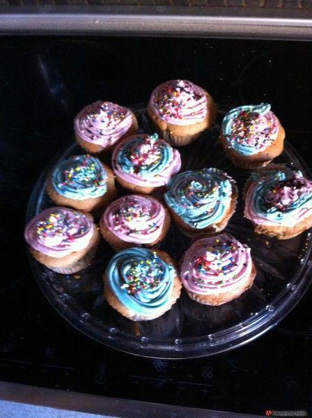 Τέλεια και εύκολα cupcakes με βουτυρόκρεμα #sintagespareas