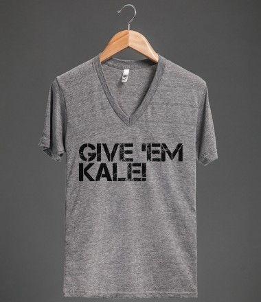 Give 'em Kale by skreened.com  #Tee #Kale