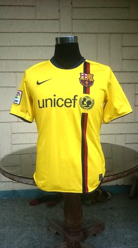 93ef4eea67e SPANISH LA LIGA BARCELONA FC 2008-2009 LA LIGA TREBLE JERSEY SHIRT CAMISETA