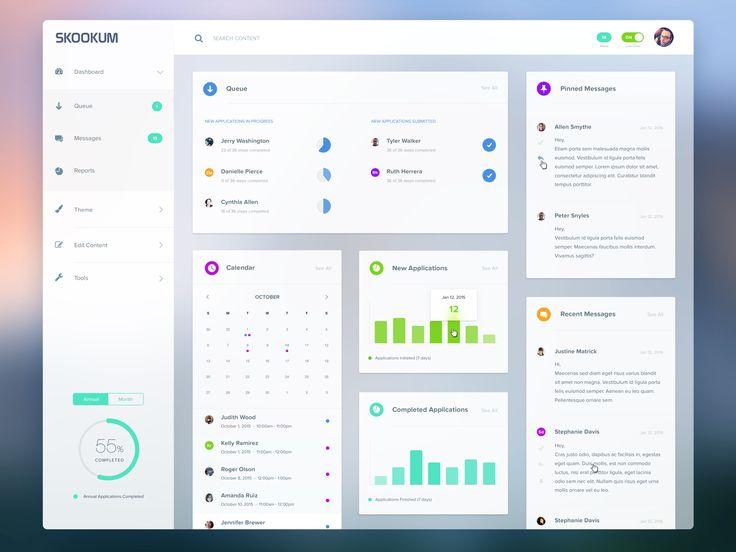 Best  Web Dashboard Ideas On   Dashboard Design