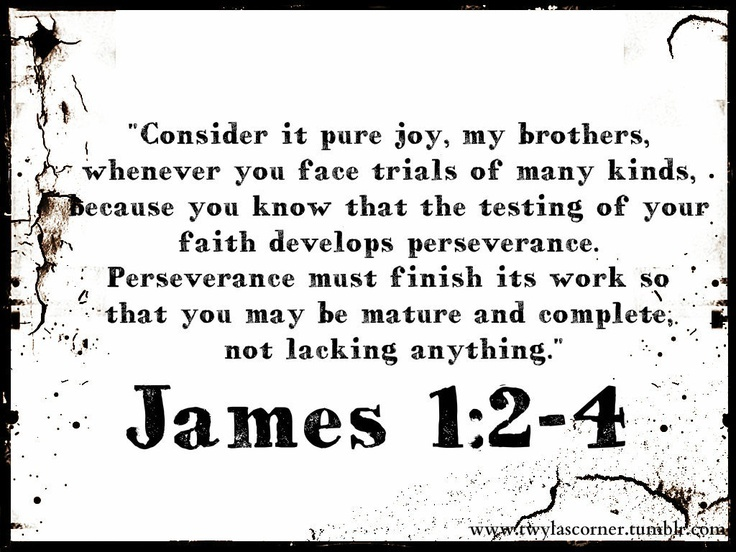 James 1:2-4 life is hard and I don't understand it how do I work out what god is teaching me through this
