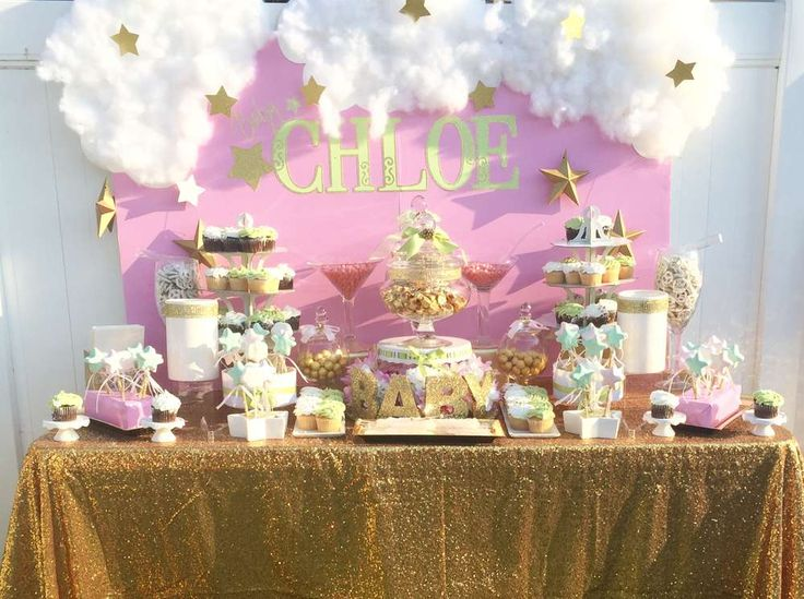 Twinkle Twinkle Little Star  Baby Shower Party Ideas | Photo 1 of 11