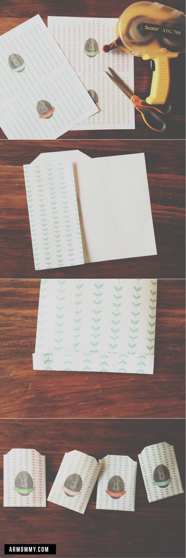 some easter for your basket. free seed packet printable.
